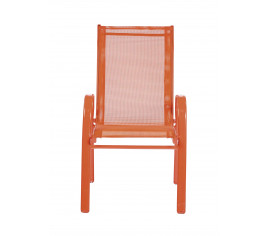 Fauteuil enfant LITTLE F Orange