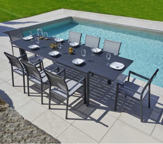 Table de jardin extensible ARGOS