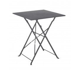 Table de jardin pliante FLORENCE - Gris anthracite