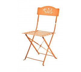 Chaise de jardin pliante VERONE - Orange