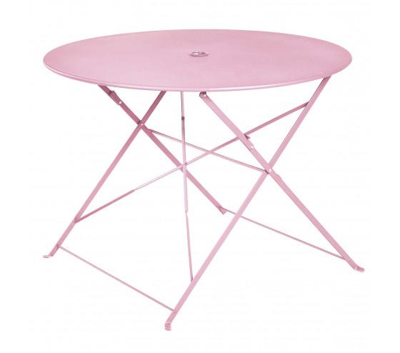 Table de jardin pliante BELLAGIO - Rose
