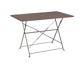 Table de jardin pliante VENISE - Taupe