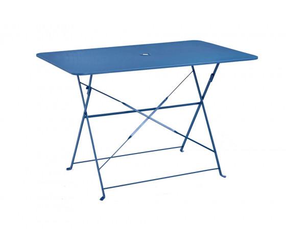 Table de jardin pliante VENISE - Bleu