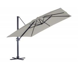 Parasol déporté LUXEKING 4X3M - Lin