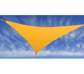 Voile d\'ombrage FLY 360 - Jaune moutarde