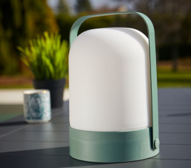 Lampe nomade - 15x15x21 cm